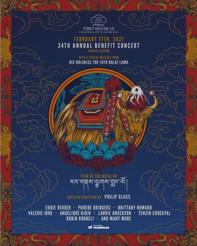 Eddie Vedder, Phoebe Bridgers, More to Play Tibet House 34th Anniversary Benefit Livestream