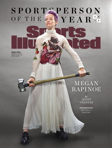 Megan Rapinoe Becomes the 4th Woman to Individually Win SI's Sportsperson of the Year