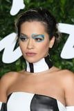 Rita Ora's Graphic Blue Glitter Eyeliner Was the Most Extra Beauty Look at the BFAs 2019