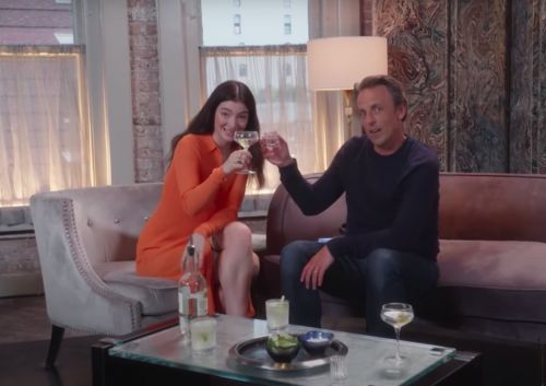 Watch Lorde Get Drunk With Seth Meyers