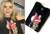 Kiernan Shipka Enlightens Us: A Tony Soprano Mermaid T-Shirt DOES Exist