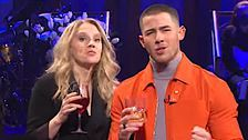 'SNL' Host Nick Jonas Assures Brother They're Still A Band, Then Debuts His Own 'Spaceman'