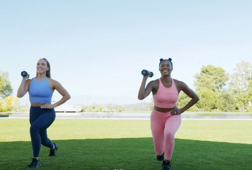 Gabrielle Union Just Launched a New 17-Minute HIIT Workout