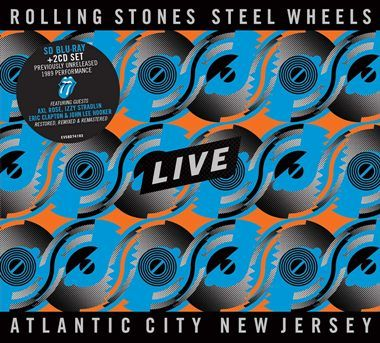 Music Blu-ray and CD Review: The Rolling Stones - Steel Wheels Live - Atlantic City, NJ 1989