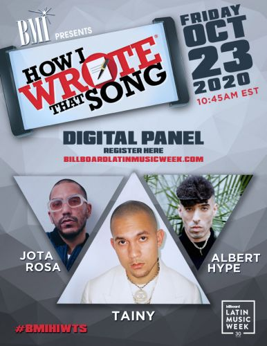 "Events: BMI presents: ""How I Wrote That Song"": VIRTUAL"