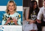 This Style Connection Between Dr. Jill Biden and Meghan Markle Couldn't Have Come at a Better Time