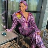 Chloe x Halle Had a Twinning Moment in These Futuristic Balmain Jumpsuits and 4-Inch Heels