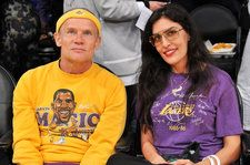 Red Hot Chili Peppers' Flea Marries Melody Ehsani & The Pics Are Beyond Stylish