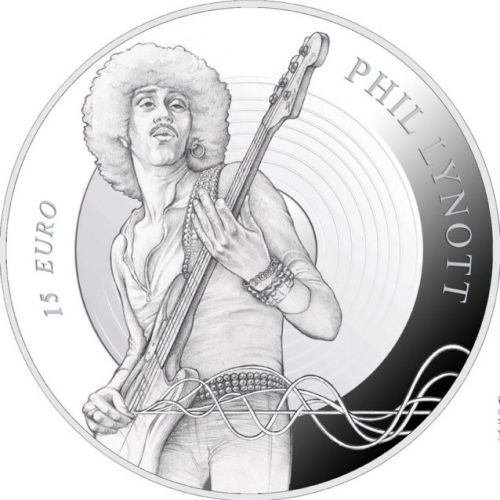 THIN LIZZY's PHIL LYNOTT To Be Honored With Commemorative Coin