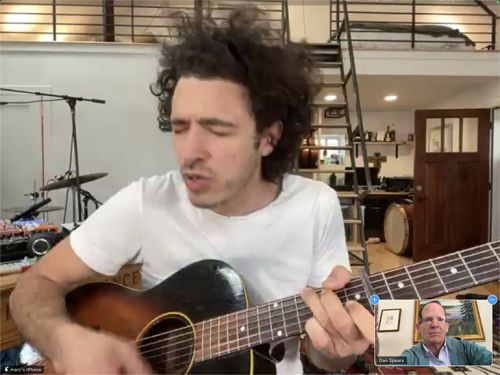 News: BMI Singer-Songwriter Marc Scibilia Highlights Alpha Media Virtual GM Meeting
