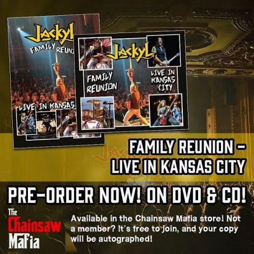JACKYL To Release 'Family Reunion - Live In Kansas City' Concert DVD + CD In December