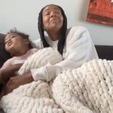 Gabrielle Union Attempted the Cuddle Challenge With Kaavia, but She Was 100% Not Having It