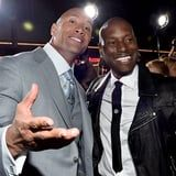 "Dwayne Johnson and Tyrese's Fast & Furious Feud Is Finally Over: "" Peaced Up"""