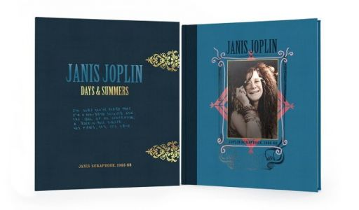 JANIS JOPLIN: 'Days & Summers - Scrapbook 1966-68' Limited-Edition Book Due In March