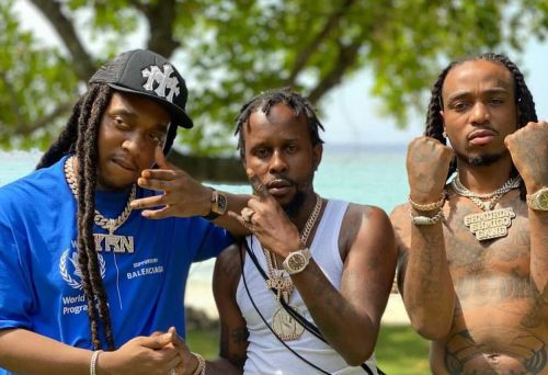 """Migos Blow Smoke With Popcaan In Jamaica In """"Why Not"""" Video"""