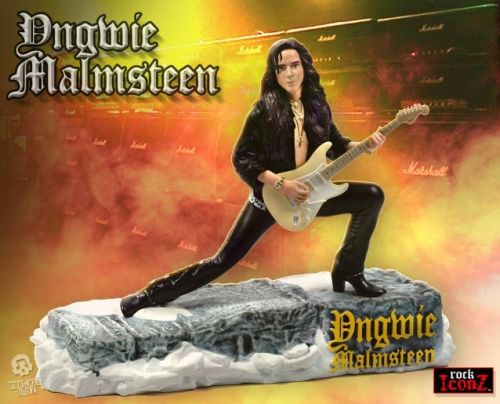 YNGWIE MALMSTEEN: KnuckleBonz Rock Iconz Collectible Statue Coming Soon