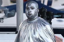 Kanye West's Opera 'Mary' Made Shaky Miami Debut In Stunning Silver: Watch