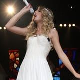 """Taylor Swift Gives a Sneak Peek of Her """"Love Story"""" Rerecording, and OMG, the Vocals"""