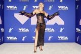 Miley Cyrus Wore a Sexy, Sheer Gown With Underwear to the 2020 MTV VMAs