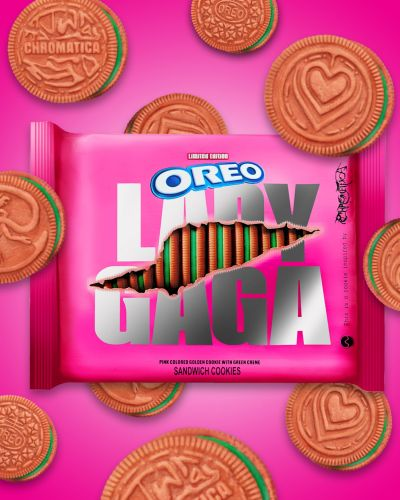In Today's Unexpected Yet Delightful News: Lady Gaga Is Releasing Chromatica Oreos!