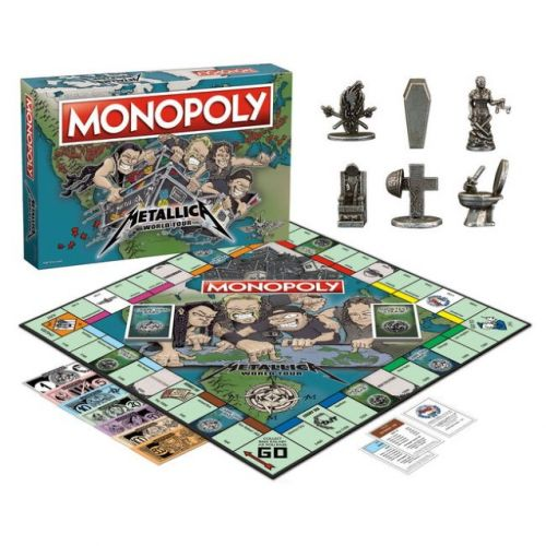 METALLICA Monopoly Returns With 'World Tour' Edition