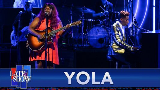 """Watch Yola Earn A Standing Ovation Howling Out """"Stand For Myself"""" With Jon Batiste On Colbert"""