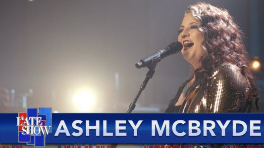"Watch Ashley McBryde Perform ""Sparrow"" On Colbert"