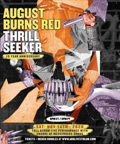 AUGUST BURNS RED To Perform 'Thrill Seeker' Album In Full During Livestream