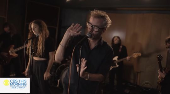 Watch Matt Berninger Perform Serpentine Prison Songs On CBS This Morning