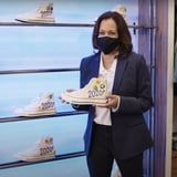 Kamala Harris Explained Why She Loves Converse, and the Political Connection Just Makes Sense