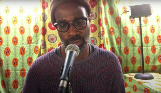 "Watch TV On The Radio's Tunde Adebimpe Perform A Solo Loop-Pedal ""Love Dog"" On Colbert"