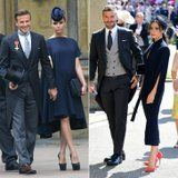 The 1 Major Difference Between Victoria Beckham's Royal Wedding Outfits