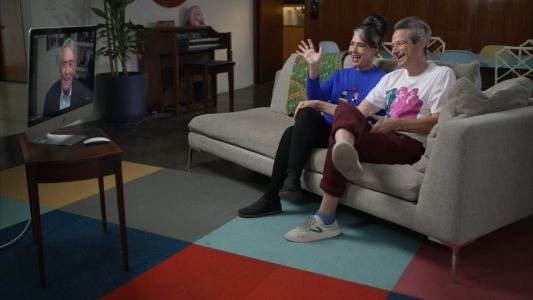Watch Ad-Rock & Kathleen Hanna Chat With Dan Rather In His Musical Family Interview Series
