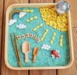 Encourage Your Toddler's Creativity With These Cute Sensory Bins