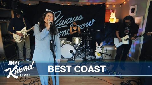Watch Best Coast Rock Out On Kimmel