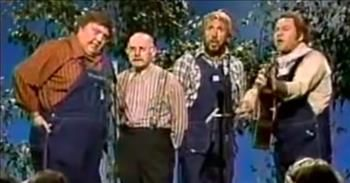'Blessed Jesus Take My Hand' The Hee Haw Gospel Quartet