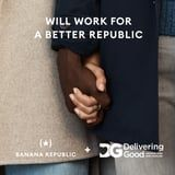 Banana Republic Isn't Just Pledging a $20M Clothing Donation: The Brand's Doing More