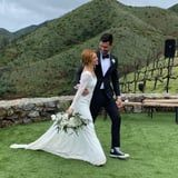 Brittany Snow's Lace Wedding Dress Is Stunning, and Her Reception Gown Has Us Seeing Stars