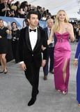 I'm Not Even Looking at Joe Jonas in His Tux When Sophie Turner Is Wearing This Hot-Pink Gown