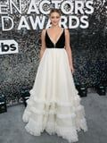 Mother of Pearl! Lili Reinhart Looks Radiant Wearing a Miu Miu Gown to the SAG Awards