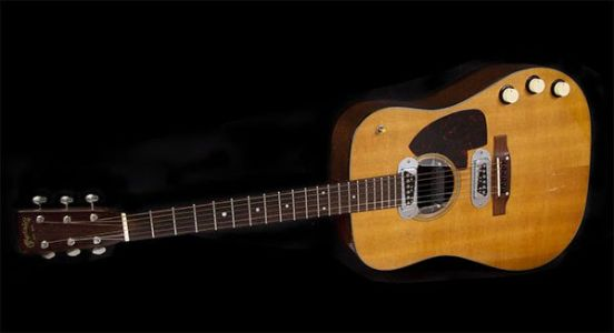 KURT COBAIN's 'MTV Unplugged' Guitar Expected To Fetch $1 Million At Auction