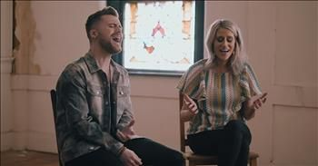 Christian Couple Sing 'Tis So Sweet To Trust In Jesus' Classic Hymn