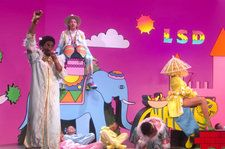 LSD Build Their Vibrant World On the 'Ellen Show' Stage For 'No New Friends' Performance: Watch