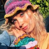 Haley Lu Richardson's Etsy Shop Is '90s to Its Core - Her Specialty Is Crocheted Bucket Hats