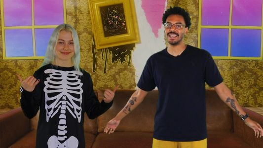 Phoebe Bridgers Heads To The Cyber Goth Prom In Outer Space On Zack Fox's New Show RELEASED!