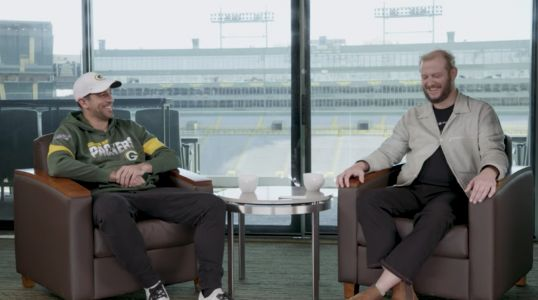 Watch Bon Iver's Justin Vernon and Aaron Rodgers' GQ Conversation