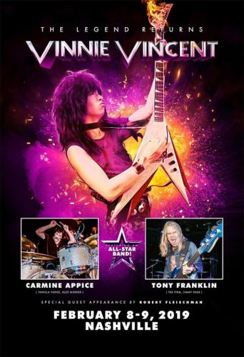 VINNIE VINCENT: December Concert Dates Postponed To February