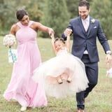 """Serena Williams's 2-Year-Old Took Her Flower Girl Duties """"Very Seriously,"""" and I'm Impressed"""