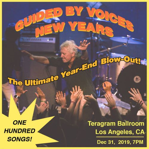 Guided By Voices to play 100-song marathon concert on New Year's Eve