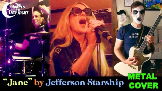 """Watch A Wet Hot American Summer-Themed All-Star Metal Version Of Jefferson Starship's """"Jane"""""""